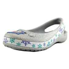 Crocs Genna II Frozen Flat   Round Toe Synthetic  Flats