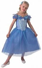 Girls Disney Princess Live Action Cinderella Book Day Fancy Dress Costume Outfit
