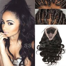 100% Remy Indian Virgin Human Hair Full Lace Wig Lace Front Wig with Baby Hair s