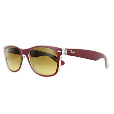 Ray-Ban Sunglasses New Wayfarer 2132 605485 Red Transparent Brown Gradient M