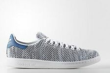 Adidas ORIGINALS STAN SMITH SHOES SNEAKERS  White/Core Blue S82251 +