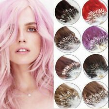 Loop Micro Ring 100% Remy Human Hair Extensions,Choose Colour, 6A QUALITY