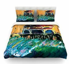Offshore Beauty by Josh Serafin Coastal Featherweight Duvet Cover
