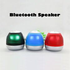 Mini LED Lamp Robot Bluetooth Speaker Support MP3 Mobile Phone FM TF Function
