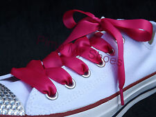 Pink Ribbon Shoe Laces with Aglets for Kids & Women's Trainers  Race For Life