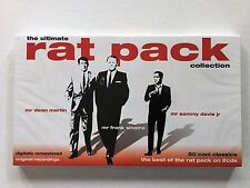 The Ultimate Rat Pack Collection 2 CDs (50 Music Songs) New/Sealed