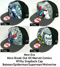 NEW ERA DC/MARVEL COMIC HERO BREAKOUT 9FIFTY SNAPBACK CAP - ASSORTED