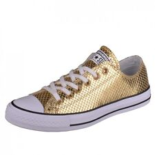 Converse CTAS Ox gold/black/white Sneakers Shoes Chucks Chuck Ladies 555967C