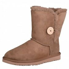 UGG Ws Bailey Button brown tan brown Boots Winter Boots Shoes 5803