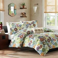 Posh Paisley Medallions & Floral Duvet Cover Bedding Set AND Deco Pillow
