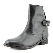 Aldo Astaeri Women  Round Toe Leather Black Mid Calf Boot