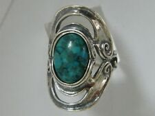 925 Sterling Silver Ring Statement Ring Turquoise Turquoise Women Ring