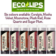 Eco Lips Eco Tints Lip Balms Tinted 6 Colours to choose from