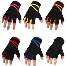 New Half Finger Motorcycle Bike Bicycle Riding Cycling Gloves M L XL Multi-color