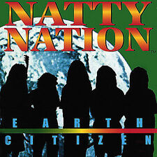 Earth Citizen by Natty Nation (2003, Natty Nation) CD & PAPER SLEEVE ONLY
