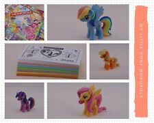 My Little Pony Monopoly Replacement Pieces Ponies Dice Monopoly Money