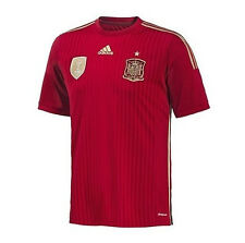 Adidas 2010 Spain World Cup Champions Home Authentic Jersey 2014 XL LAST ONE!!