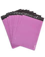 Pink Mailing Bags Plastic Mail Post Postage Polythene Strong Seal All Sizes