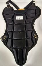 "United Athletic Youth Baseball 13 or 15"" Catchers Chest Protector Age 6-10 Black"