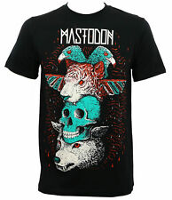 Authentic MASTODON Logo Totem Slim-Fit T-Shirt S M L XL 2XL NEW