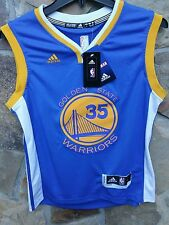 Kevin Durant Golden State Warriors jersey youth kids boys basketball sz L