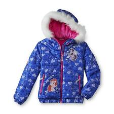 My Little Pony Girl's Puffer Jacket - Hearts Print Size 4/5, New with tag!