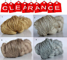 Clearance Sale 100% Silk Hand Embroidery Thread - Hand Dyed 1 Skein 50 Grams 11