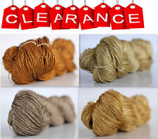 Clearance Sale 100% Silk Hand Embroidery Thread - Hand Dyed 1 Skein 50 Grams 5