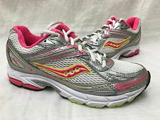 New! Women's Saucony 15178-1 Grid Tornado 5 Running Shoes White/Pink SIZE 9 L35