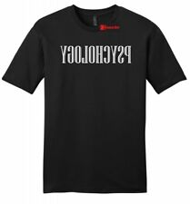 Reverse Psychology Funny Mens Soft T Shirt College Humor Funny Party Tee Z2