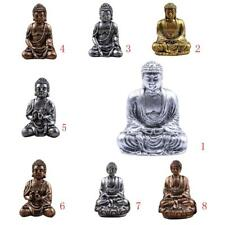 BUDDHA STATUES Hand-painted Resin Hindu Tribal God Meditation Buddha Figurines