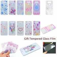 ULTRA THIN Fashion Floral SOFT TPU GEL Ditsy Back Case Cover Skin For LG Phones