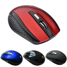 2.4GHz Computer Wireless Optical Mouse/Mice USB 2.0 Receiver for PC Laptop New.