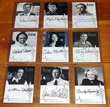 Six Million Dollar Man Selection of Autograph Collector Cards Rittenhouse 2004
