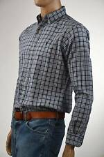 Ralph Lauren Classic Fit Blue & Black Flannel Long Sleeve Plaid Shirt-Pony-NWT