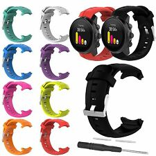 Silicone Rubber Band Strap Bracelet + Tool For SUUNTO SPARTAN SPORT Series Watch