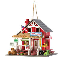 Birdhouse Quaint Country Store Very Detailed and Colorful Garden Home Accent WOW