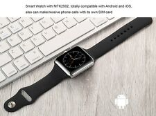 Clone Apple Smart Watch Phone Bluetooth SIM Card Camera Video Mp3 GPS Wi-Fi iOS