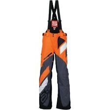 Arctiva Comp RR S7 Mens Snowmobile Bibs Black/Orange