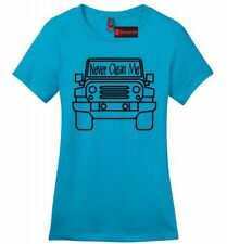 Never Clean Me Funny Ladies Sft T Shirt Off Roading Mudding Truck Country Tee Z4