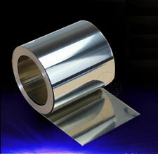 Select Thick 0.01mm - 0.6mm 304 Stainless Steel Fine Plate Sheet Foil 100 200mm