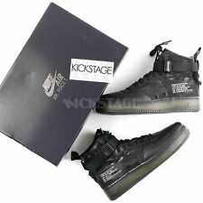 Nike Mens SF AF1 Mid QS Black Tiger Camo Special Field Air Force 1 AA7345-001