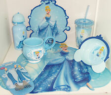 Disney Store Cinderella Cup Water Bottle New