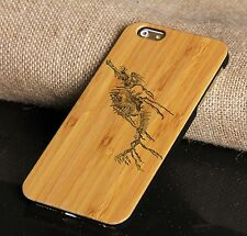 Engraved Bamboo Cell Phone Case Wood Phone Case For 6/6s/6plus/6splus/7/7plus