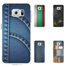 Heart Denim Pattern Case Cover for iPhone 4 6 Samsung Galaxy S5 S6 Note 7 Pretty