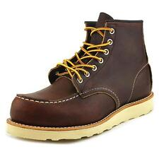 Red Wing Shoes 6-Inch Moc Toe Lug  Men  Moc Toe Leather Brown Boot