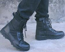 Mens Outdoor Special Forces Military Army SWAT Tactical Combat Work Ankle Boots