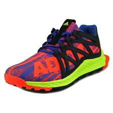Adidas Vigor Bounce Youth  Round Toe Canvas Multi Color Running Shoe
