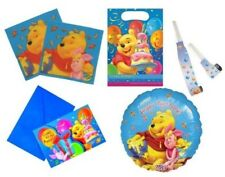 WINNIE THE POOH Birthday Party Tableware & Accessories (Blue) {Decorata Party}