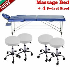 Beauty Salon Spa Massage Equipment Facial Tattoo Bed Chair With Stool FB-51B SK